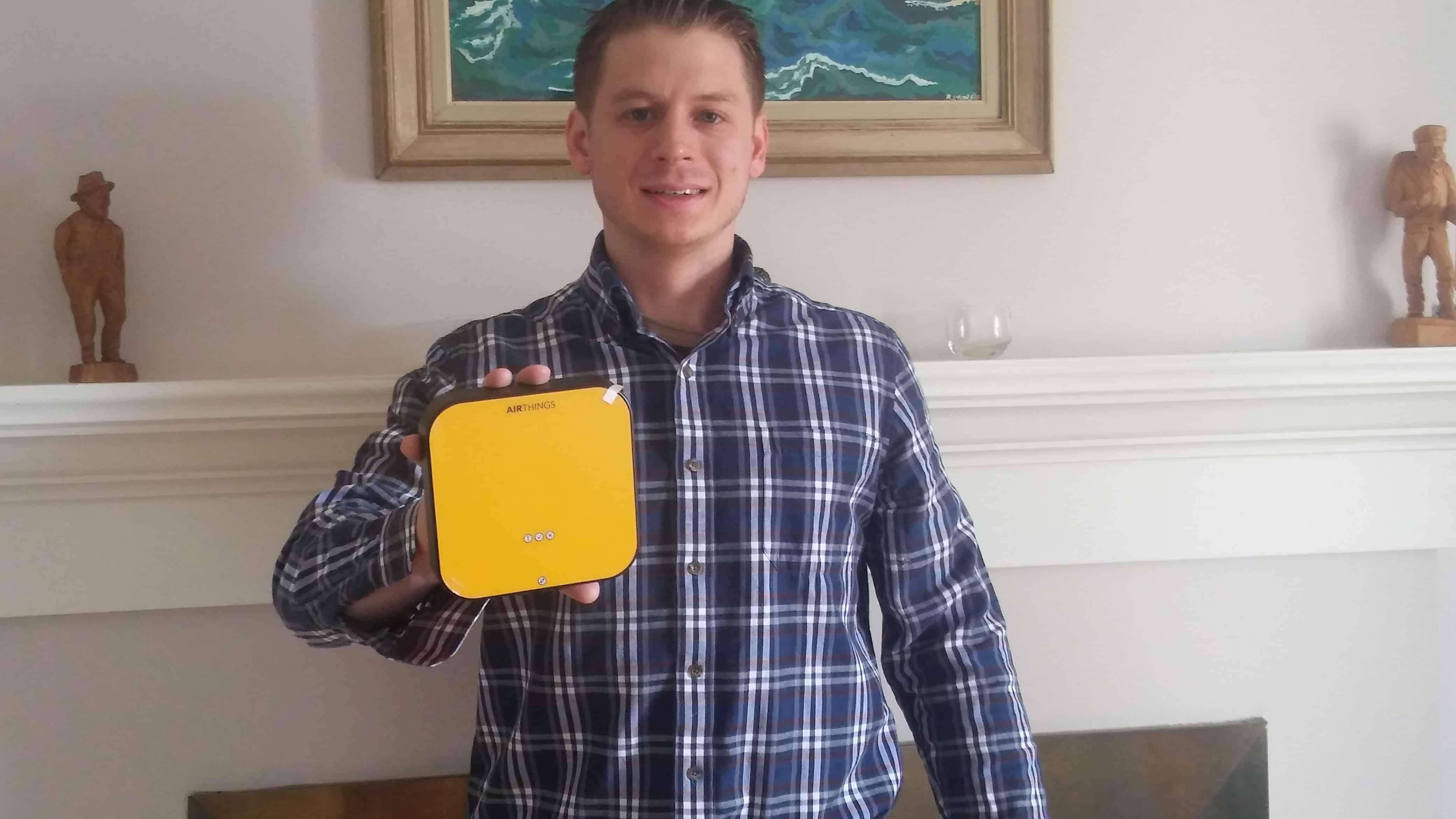 Corentium Pro Radon Monitor