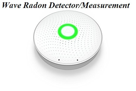 Wave Radon Detector Measurments